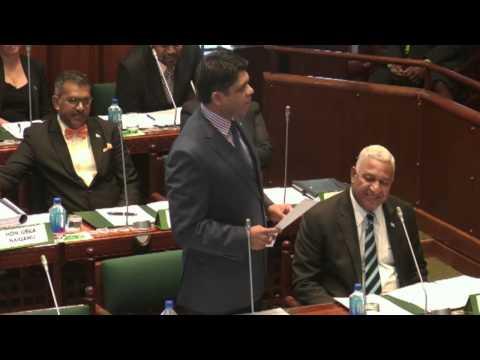 Response by Fijian Attorney-General, Hon Aiyaz Sayed-Khaiyum.