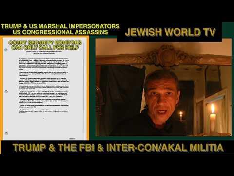 Jewish World TV Episode 2003 InterCon Security Impersonating U.S. Marshals