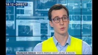 Violences - Le Gilet Jaune François Boulo répond à Castaner et convoque Spinoza...
