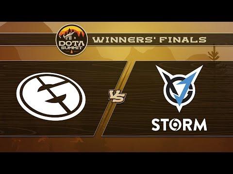 Evil Geniuses vs VGJ.Storm Game 1 - DOTA Summit 9: Winners' Finals
