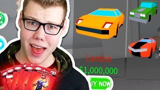 SPENDING ALL MY ROBUX IN CAR WASH SIMULATOR!! (Roblox)