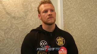 """BEN DAVISON """"ANTHONY JOSHUA IS TAILOR MADE FOR TYSON FURY! WE WOULD GET IN RING W/HIM TONIGHT!"""""""