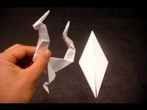 How to Make an Origami Dragon (Eastern Style)