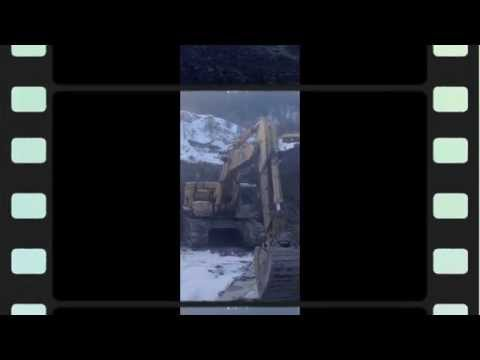 Excavator Symphony - Winter Mining