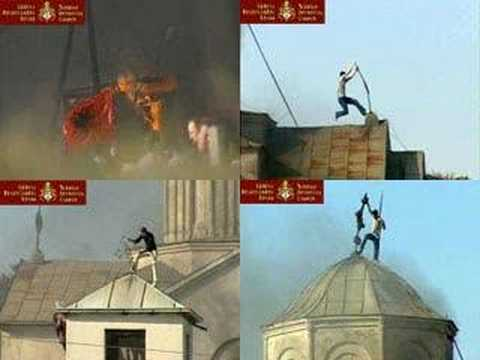 † Crucified Kosovo/ Destructive Albanian Muslim Barbarism/ Shame In The Face Of Christian Europe