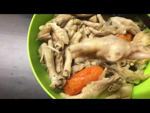 Как варить холодец из куриных лапок