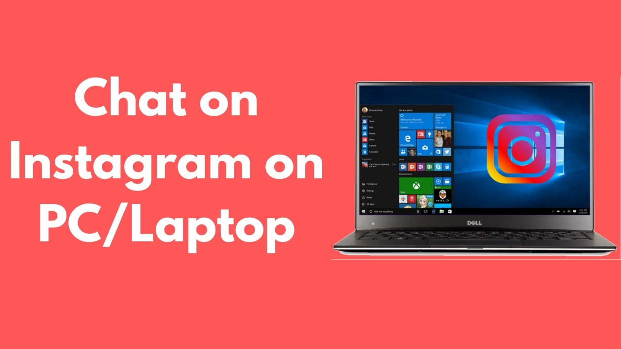 How To Chat On Instagram On Pc Laptop 2020 Youtube