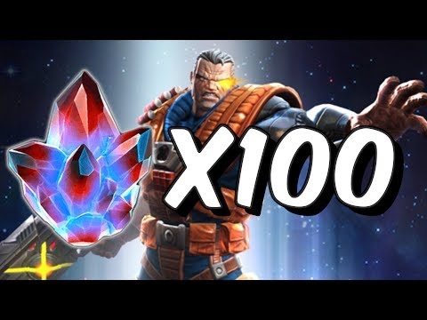 100x Alliance Quest Crystal Opening - Marvel Contest Of Champions