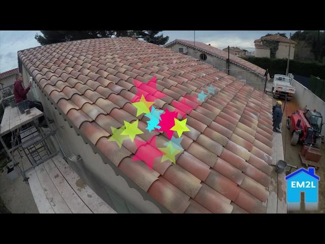 TimeLapse Rénovation de toiture