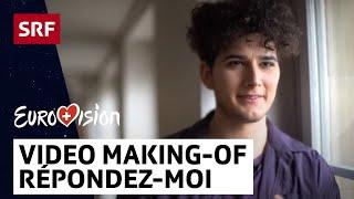 Gjon's Tears: Making-Of Répondez-moi   Eurovision 2020    SRF Musik