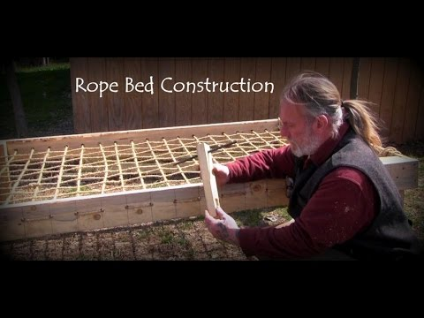 Rope Bed Construction Youtube