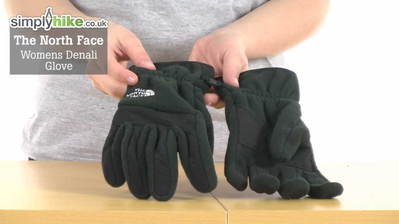 ed112fbd7b1a The North Face Womens Denali Glove - www.simplyhike.co.uk - YouTube