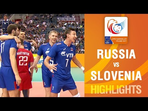 Highlights | Russia vs Slovenia | LOTTO EUROVOLLEY POLAND 2017