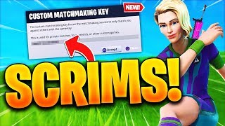 🔴 PRO FORTNITE CUSTOM SCRIMS With SUBS! Fortnite CUSTOM Matchmaking! (Win A FREE Shoutout)