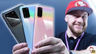 📱 Nový Samsung Galaxy S20/S20+/S20 Ultra: První dojmy! | WRTECH [4K]