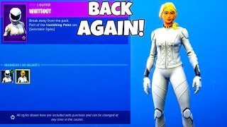 WHITEOUT SKIN IS BACK..! (Today's Item shop) Fortnite Battle Royale