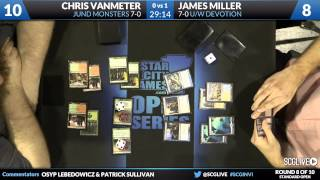 SCGINVI - Standard - Round 8b - Chris VanMeter vs James Miller