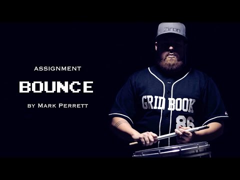 """BOUNCE"" by Mark Perrett | DRUMLINE SIMULATOR"