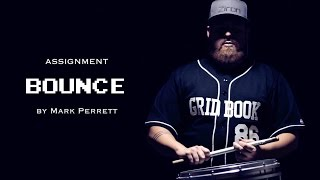 bounce by mark perrett drumline simulator