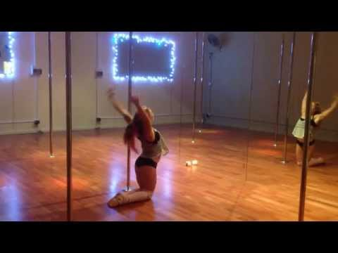 Amy Hazel - Thinking Out Loud - Ed Sheeran - lyrical pole dance routine 14/11/14 -