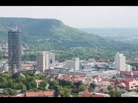 Stadt Jena. Thüringen.