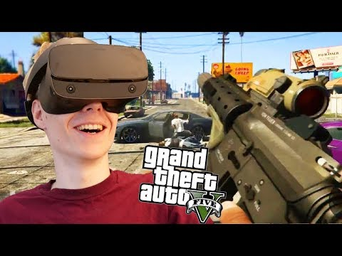 How to play GTA 5 in VR | Mod Guide + Oculus Rift S Gameplay