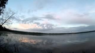 Ловля леща с берега на поплавочную удочку #3 (видео-отчет) рыбалка июль 2015 Вечерок