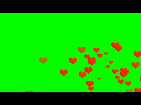 Effects For Game Channel   Love Effect free to use 01 Green Screen