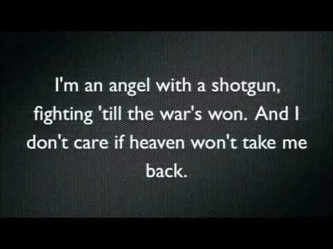 The Cab   Angel with a Shotgun Karaoke