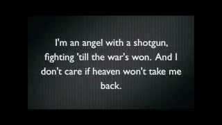 The Cab   Angel with a Shotgun Karaoke