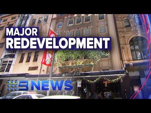 Sydney's City Tattersalls To Undergo $200m Redevelopment | Nine News Australia