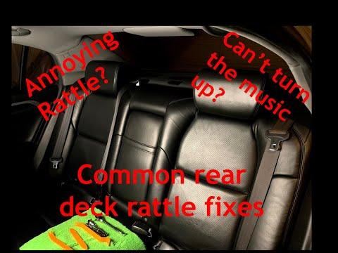 "Fix That Annoying Rear Deck Rattle for ""free"" (DIY) 2006 Acura TL"
