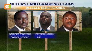 Kalonzo Musyoka named in land grabbing scam, Ksh 350M bribery