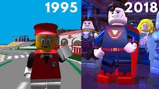 Эволюция серии игр LEGO | 1995 - 2018