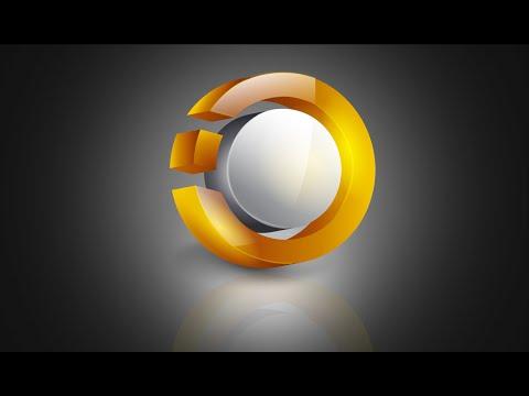 Illustrator Tutorial | 3D Logo Design (Glossy)