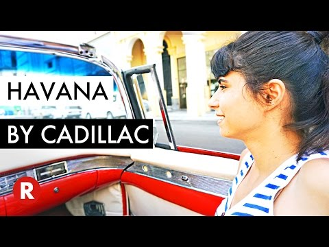 Things To Do In Havana, Cuba // Classic Cadillac Tour In Old Havana, Cuba // Travel Video