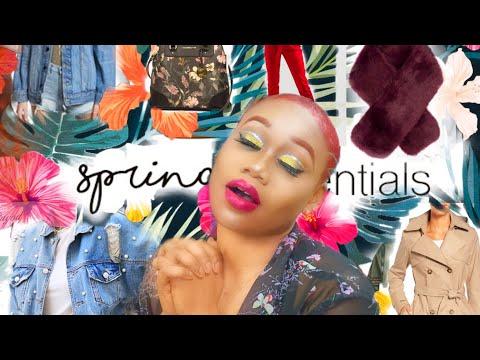 BOSS ON A BUDGET  SPRING 2018 Wardrobe Essentials Tokslabossmua