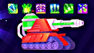 Tank Stars UPDATE - All TOXIC Tank Boosters Upgraded  | Android GamePlay FHD