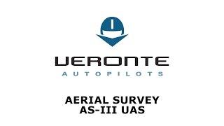 Aerial Survey AS-III UAS with Veronte Autopilot