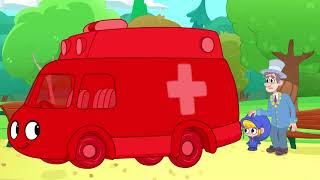 Helping Others When They Are Sick   My Red Ambulance   Kids Cartoon   Mila and Morphle Official