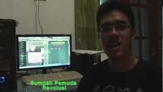 yozar.remixer Video BLog #04 - Nyanyi Sumpah Pemuda Revolusi FL Studio (FruityLoops)