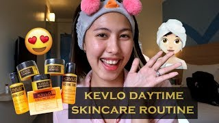 YouTube Take-Over : GF's Daytime Skincare Routine feat. KEVLO
