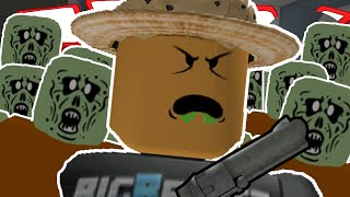 Roblox   ZOMBIE RUSH!   FIGHTING OFF GIANT ZOMBIES!!