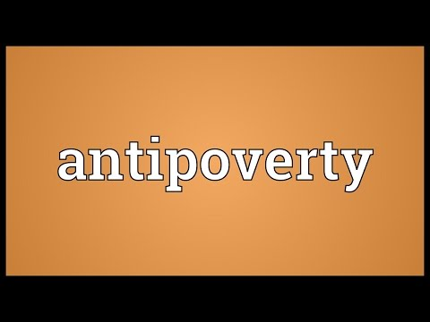 Header of antipoverty