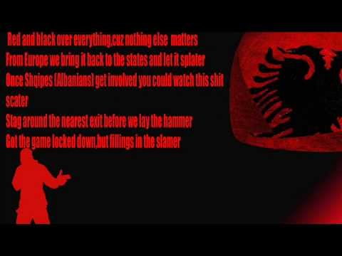 One of the Best Albanian Rap  Red and Black Lyric