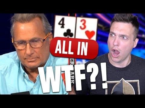 WHAT IS HE DOING? Weird Poker Hand