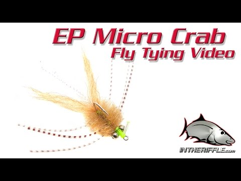 EP Micro Crab Fly Tying Video Instructions - Enrico Puglisi Fly Pattern
