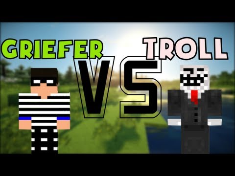 TROLL VS GRIEFER - Minecraft Machinima
