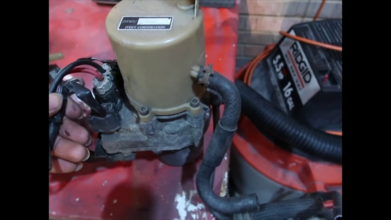 Electric Power Steering Pump Conversion