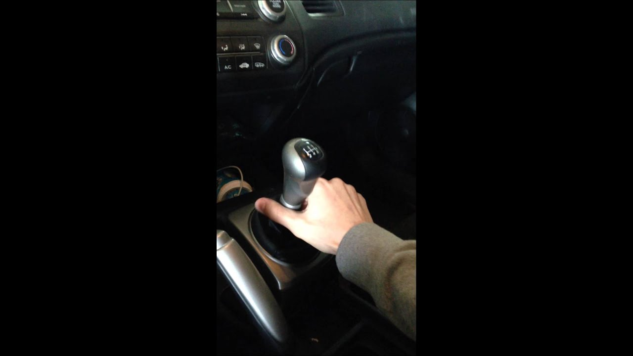 how to remove the shift knob in a 2006 2011 honda civic 5 speed rh youtube com Honda Fit Automatic Shift Knobs Funny Shift Knobs